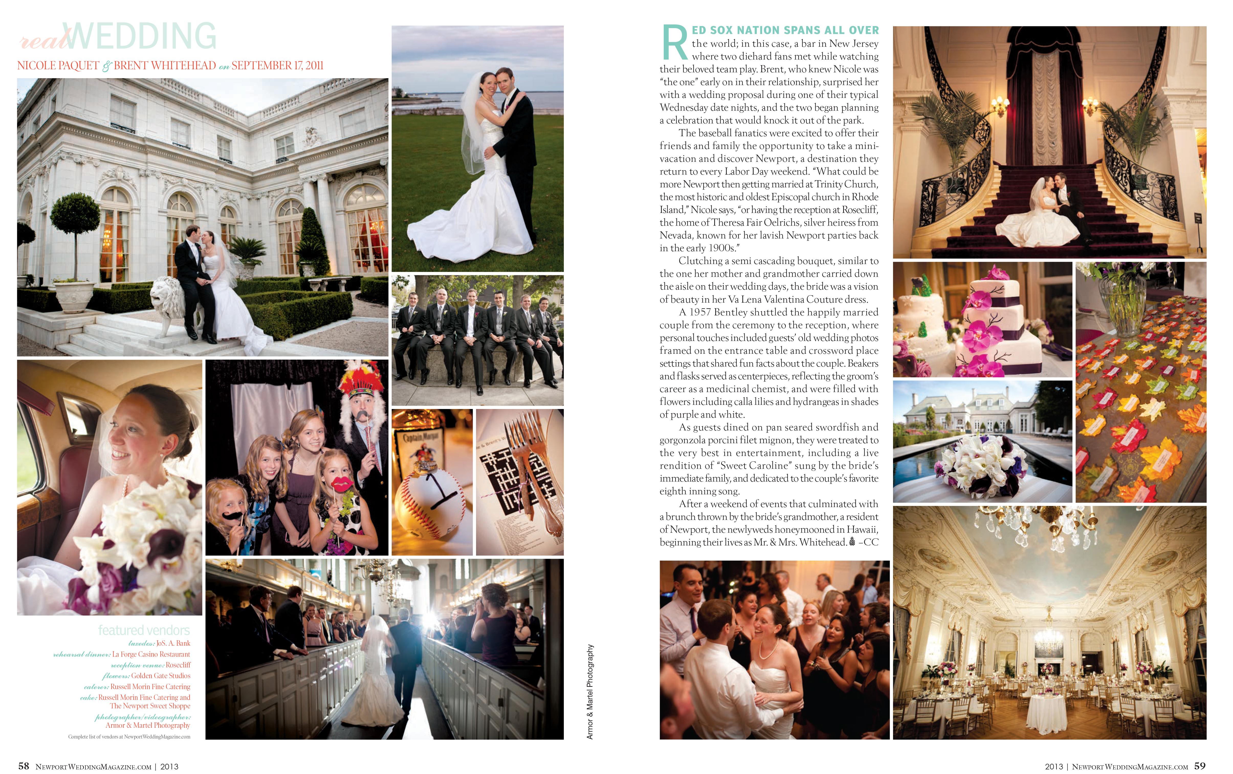 Rosecliff wedding published